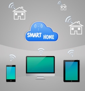Smart Home Internet Cloud Technology WI-fi Communication